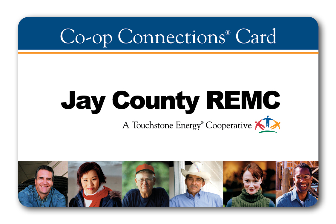 Jay County REMC Coop Connections Card